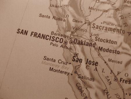 California Cities Map